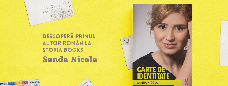 "Sanda Nicola: Cum am scris ""Carte de identitate"""