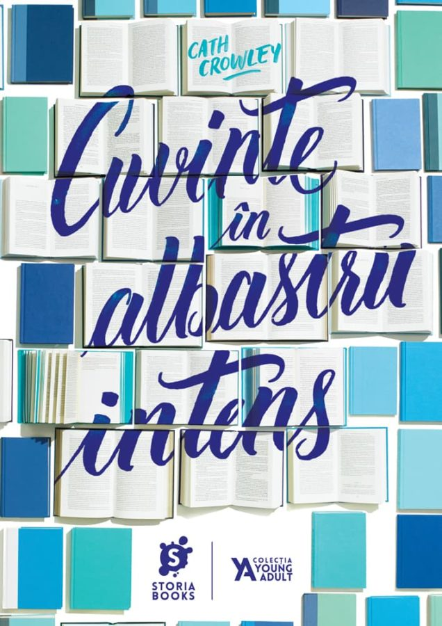 Cath Crowley · Cuvinte în albastru intens