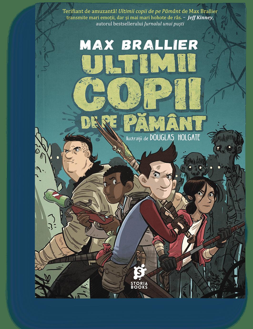 Max Brallier · Ultimii copii de pe Pământ