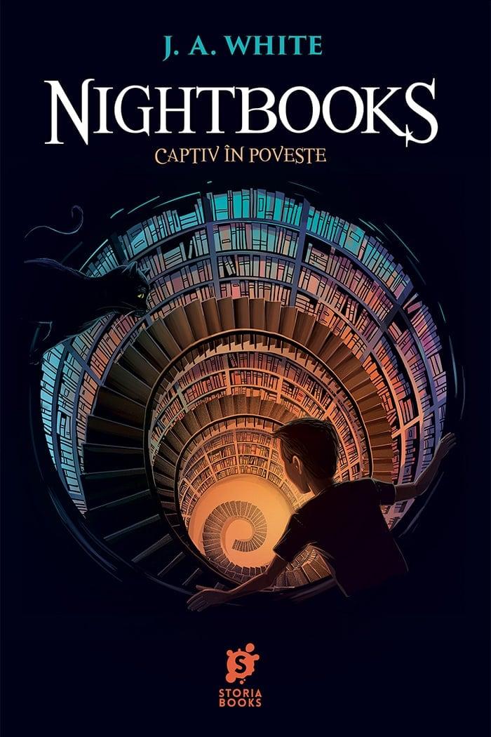 Nightbooks: Captiv în poveste • J.A. White