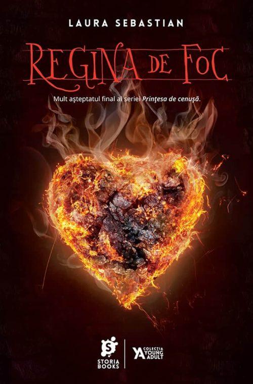 Regina de foc · Laura Sebastian · Storia Books